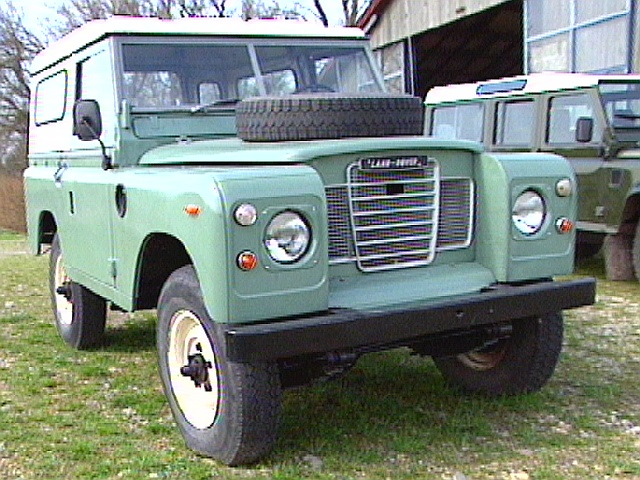Adrian Redmond S Land Rover Pages